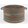 "Country Jewel Emerald 18"" x 12"" Basket"