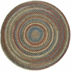 Rhody Rug Country Jewel Emerald 4' Round