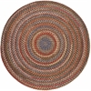 Rhody Rug Country Jewel Tawny Port 4' Round