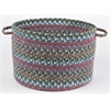 "Country Jewel Sapphire 18"" x 12"" Basket"