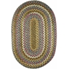 Rhody Rug Country Jewel Emerald 2X4 Oval