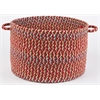 "Cypress Brilliant Red 18"" x 12"" Basket"