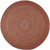 Rhody Rug Cypress Brilliant Red 6' Round