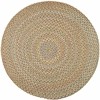 Rhody Rug Cypress Earth Beige 4' Round