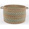 "Cypress Olive 18"" x 12"" Basket"
