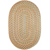 Rhody Rug Cypress Earth Beige 7X9 Oval