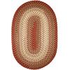 Rhody Rug Easy Living Warm Earth 8X11 Oval