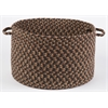 "Easy Living Taupetone 18"" x 12"" Basket"