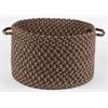 "Rhody Rug Easy Living Taupetone 18"" x 12"" Basket"