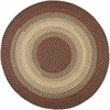 Rhody Rug Easy Living Warm Earth 4' Round