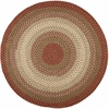 Rhody Rug Easy Living Spanish Red 4' Round