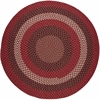 Rhody Rug Manhattan Red Brick 4' Round