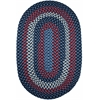 Rhody Rug Manhattan Evening Sky 7X9 Oval