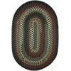 Rhody Rug Mayflower Verdant 7X9 Oval