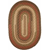 Rhody Rug Mayflower Natural Earth 10X13 Oval