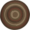Rhody Rug Mayflower Brown Fudge 4' Round