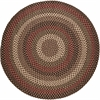 Rhody Rug Mayflower Sangria 8' Round