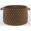 "Rhody Rug Mayflower Natural Earth 18"" x 12"" Basket"