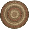 Rhody Rug Mayflower Natural Earth 4' Round