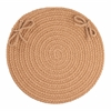 "WearEver Camel Poly 15"" Chair Pad"