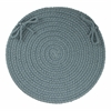 "WearEver Ocean Blue Poly 15"" Chair Pad"