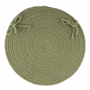 "WearEver Olive Poly 15"" Chair Pad"