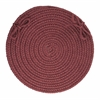 "WearEver Burgundy Poly 15"" Chair Pad"
