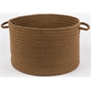 "WearEver Lt. Brown Poly 18"" x 12"" Basket"
