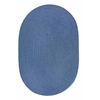WearEver Marina Blue Poly 8X11 Oval