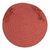 "WearEver Terra Cotta Poly 15"" Chair Pad"