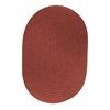 WearEver Terra Cotta Poly 8X11 Oval