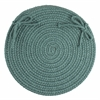 "WearEver Teal Poly 15"" Chair Pad"