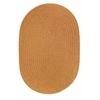 Rhody Rug WearEver New Gold Poly 2X6 Oval