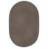 Rhody Rug WearEver Moonstone Poly 8X11 Oval