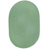 WearEver Celadon Poly 3X5 Oval
