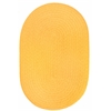 WearEver Daffodil Poly 2X4 Oval