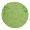 "WearEver Key Lime Poly 15"" Chair Pad"