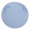 "WearEver Hydrangea Poly 15"" Chair Pad"