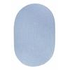 WearEver Hydrangea Poly 8X11 Oval