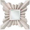 Anna Mirror, Aged Silver Finish, Beveled Mirror