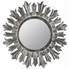 Cooper Classics Marco Mirror, Black and White Wash Finish