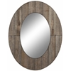 Cooper Classics Mammoth Mirror, Rustic Grey Finish