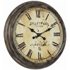 Frye Clock, Aged Bronze Finish, Under Glass