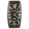 Cooper Classics Mesa Clock, Distressed Chocolate Finish
