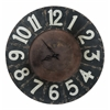 Cooper Classics Balencia Clock, Distressed Black Finish