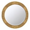 Kettler Mirror, Natural Wood Finish, Beveled Mirror
