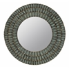 Cooper Classics Dupont Mirror, Metal Distressed Sage Finish