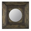Cooper Classics Davenport Mirror, Distressed Brown Finish