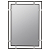 Cooper Classics Kinzie Mirror, Mocha Finish, Beveled Mirror
