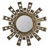 Constance Mirror, Antique Gold Metal Finish